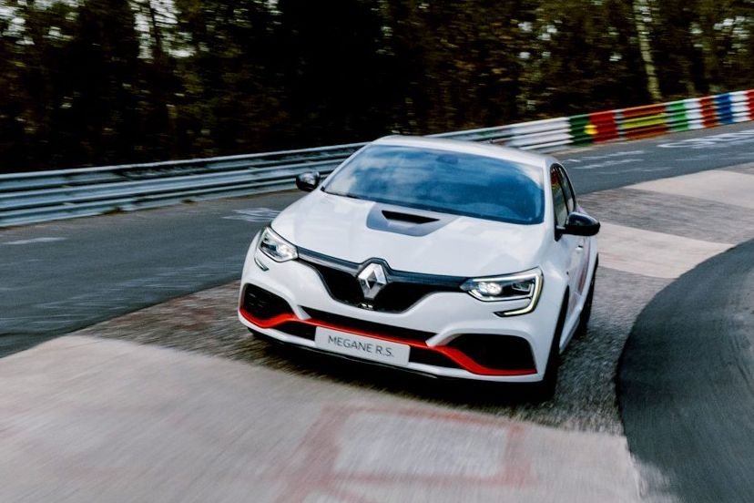 This Wild Renault Mégane Took the FWD Nürburgring Record From the Civic Type R