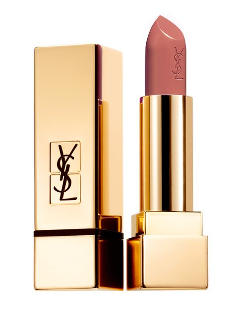 Lipstick, Cosmetics, Beauty, Product, Beige, Pink, Liquid, Lip care, Material property, Tints and shades,