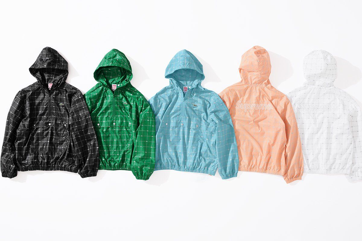 The Latest Supreme X Lacoste Collab Will Make Your 90s Style Dreams