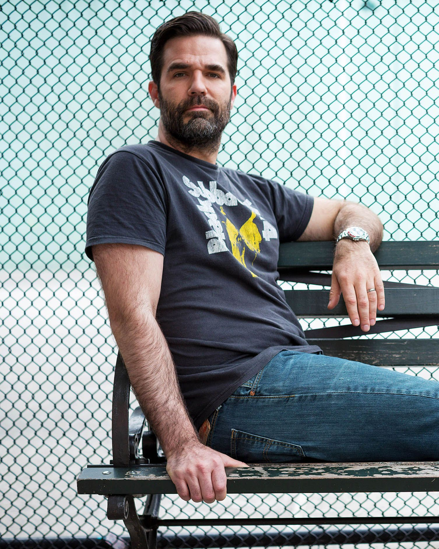 Rob Delaney Has Been Through Hell. It Hasn't Stopped Him Yet.