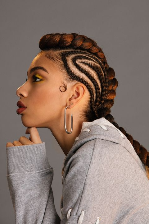 Braided Hairstyles - Braided Mohawk