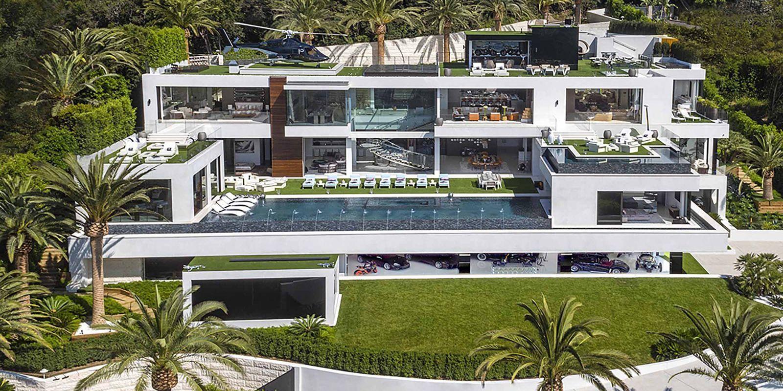 世界で高額な物件トップ12 これぞ億万長者の豪邸 Elle Decor エル デコ