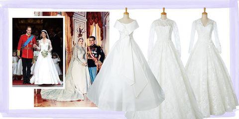 王道ロイヤルテイストのドレス