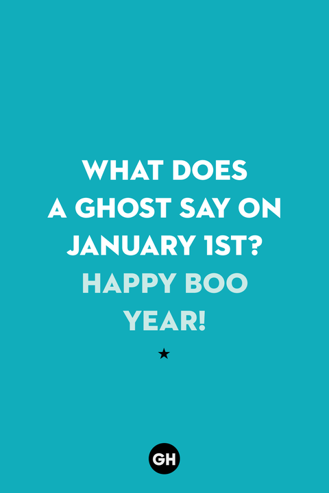 new years jokes   ghost