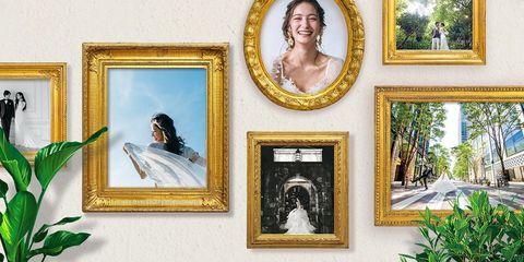 ドレスショップのフォトプラン組み合わせ画像