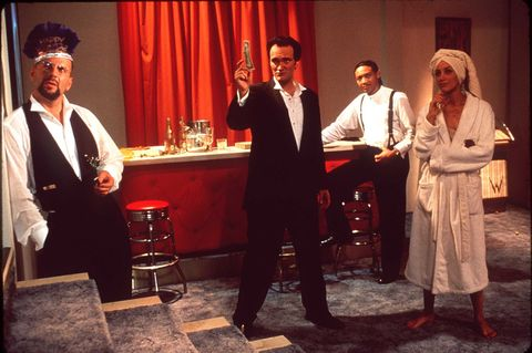 9/95/ THE MOVIE 'FOUR ROOMS'