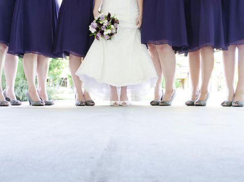 Clothing, Footwear, Leg, Photograph, Dress, Fashion, Bouquet, Sandal, One-piece garment, Foot,