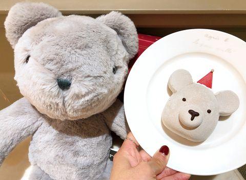 agnès b. CAFÉ 2019聖誕限定蛋糕禮盒組