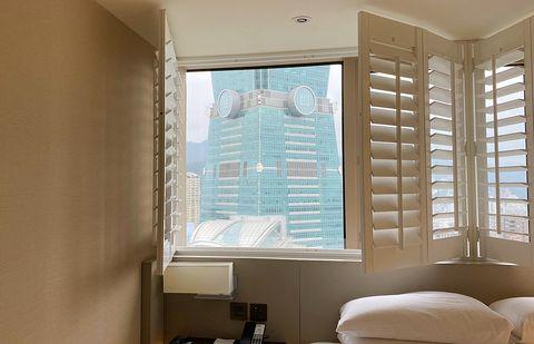 台北君悅酒店打開窗就是台北101、還有寵物房可以帶心愛毛小孩一起入住