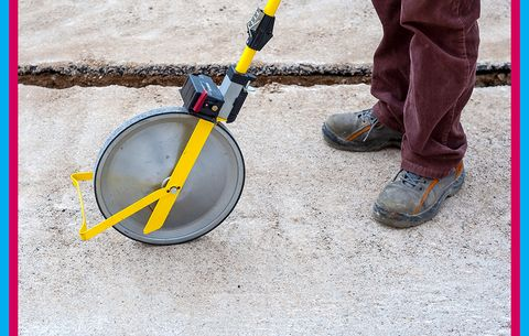 A Digital, WiFi- and Bluetooth-Enabled Measuring Wheel