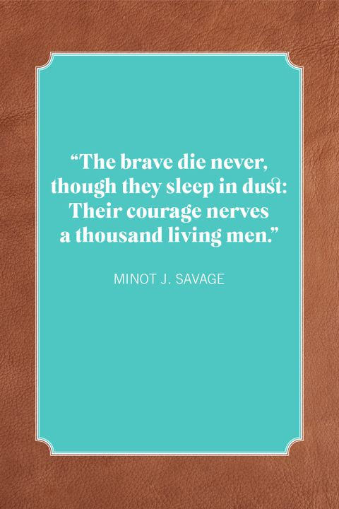 memorial day quotes minot j savage