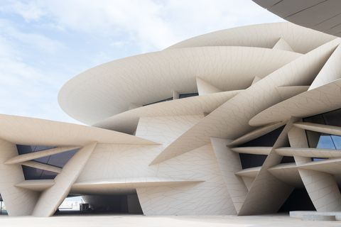 Il National Museum of Qatar a Doha firmato Jean Nouvel