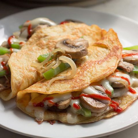 Dish, Food, Cuisine, Ingredient, Crêpe, Omelette, Produce, Recipe, Breakfast, Meat,