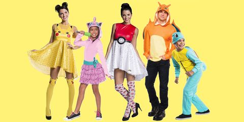 halloween costumes for pokemon fans