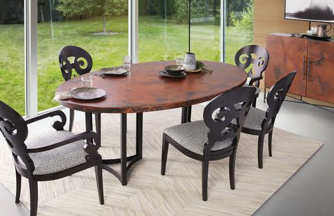 Furniture, Table, Kitchen & dining room table, Coffee table, Dining room, Chair, Room, Outdoor table, End table, Iron,