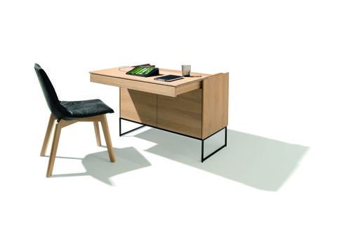 Furniture, Desk, Table, Writing desk, Material property, Computer desk, Room, Chair, Plywood, Interior design,