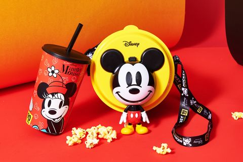 米奇,爆米花桶,秀泰影城,米奇90週,迪士尼爆米花桶,迪士尼,dinsey爆米花