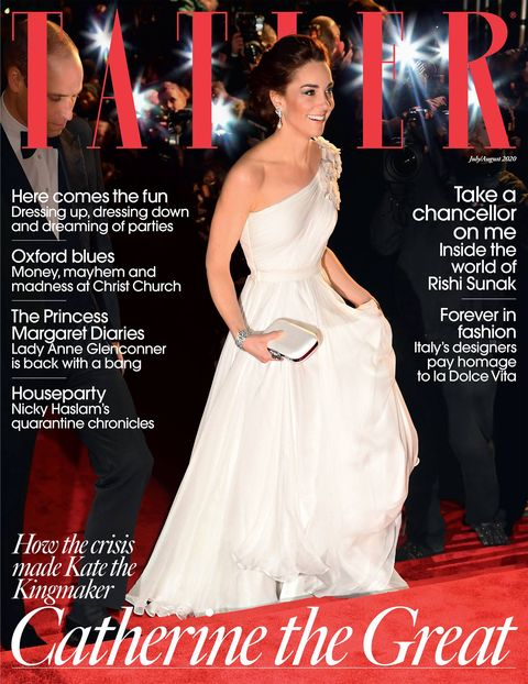 tatler cover of kate middleton