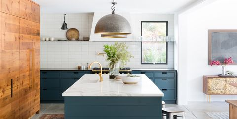Two-Tone Kitchen Cabinet Ideas - How Use 2 Colors in Kitchen ...