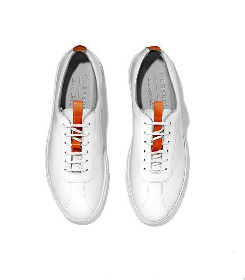 Footwear, White, Shoe, Product, Sneakers, Orange, Plimsoll shoe, Athletic shoe,