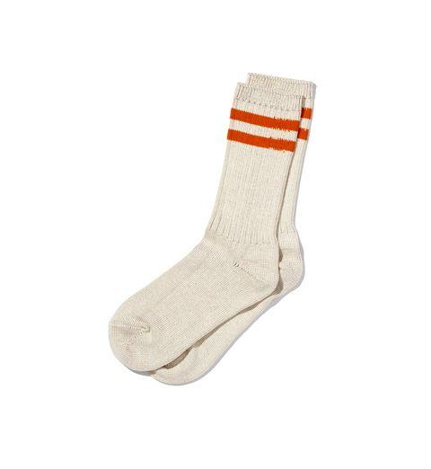 Sock, Footwear, Beige, Fashion accessory, Shoe, Wool,