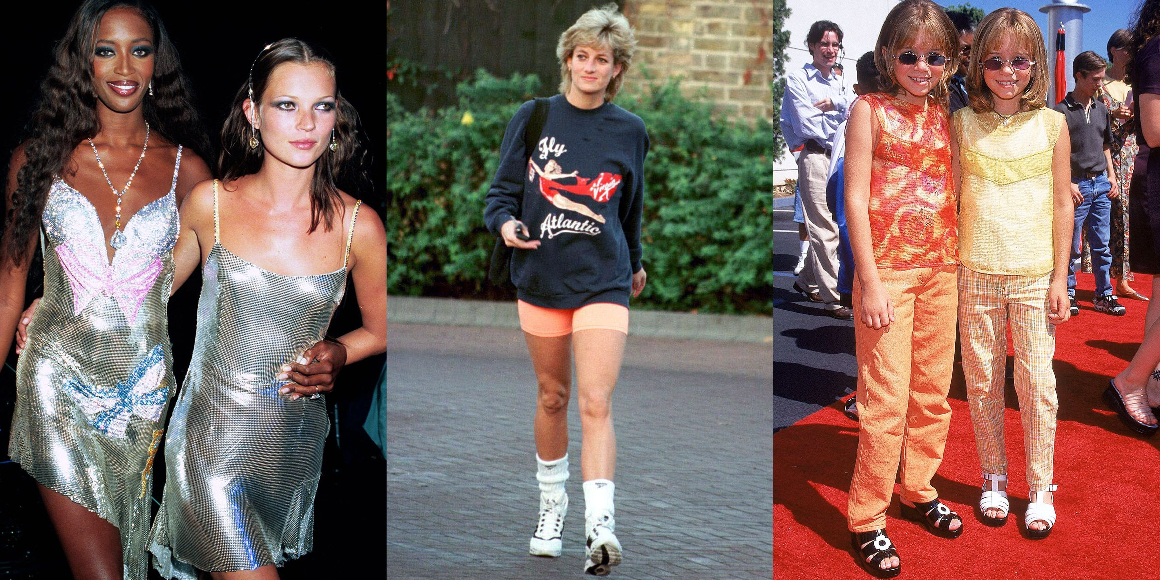 Best Fashion Moments of the 90s , 90s Fashion Trends
