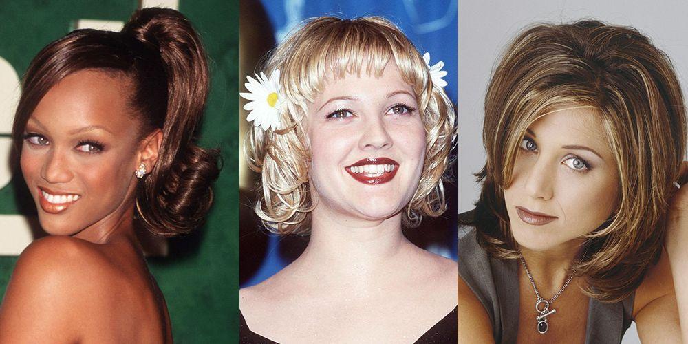 13 Trendy \u002790s Hairstyles That You Definitely Rocked Back in