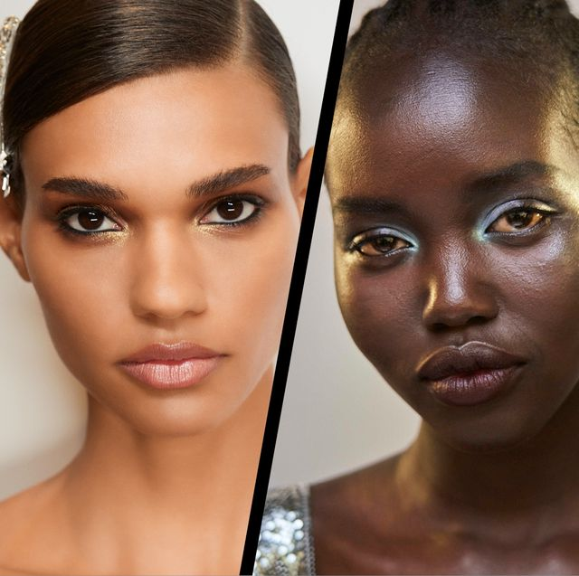 nineties beauty trends revived at the springsummer 2022 shows