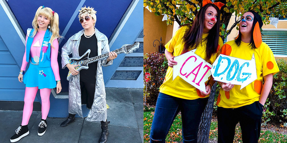 15 90s-Inspired Halloween Costumes for 2018 - Halloween Costumes from the 1990s  sc 1 st  Good Housekeeping & 12 Beauty and the Beast Costumes for the Ultimate Disney Fan