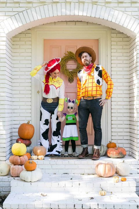 90s halloween costumes toy story family