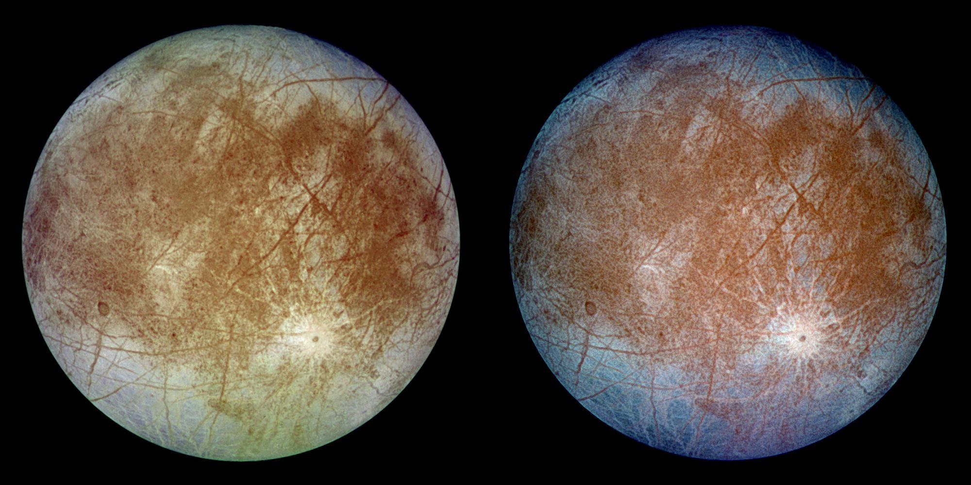 There Goes Europa, Just Spewing Jets of Water Vapor into Space