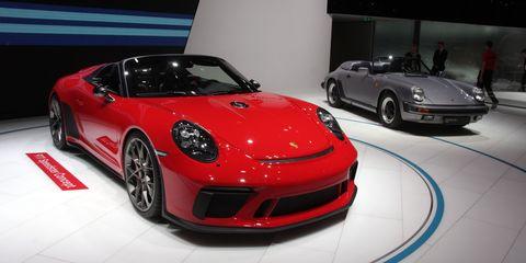 Land vehicle, Vehicle, Car, Sports car, Supercar, Auto show, Coupé, Automotive design, Porsche 911 gt3, Porsche,