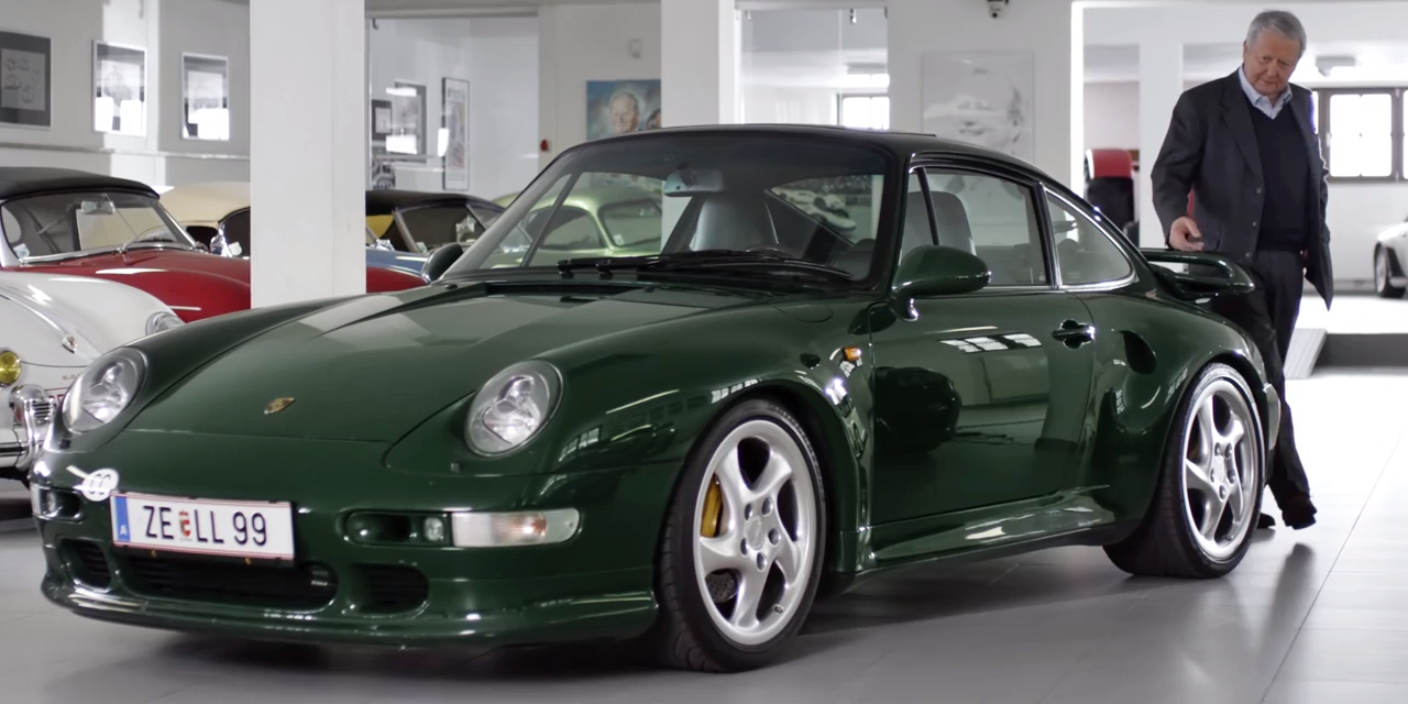 Dr. Wolfgang Porsche's 993 Turbo S Is a Green Dream