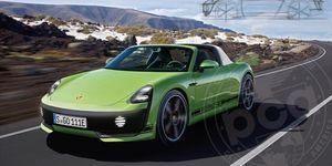 Porsche 914 EV rendering concept courtesy of Porsche Club of America