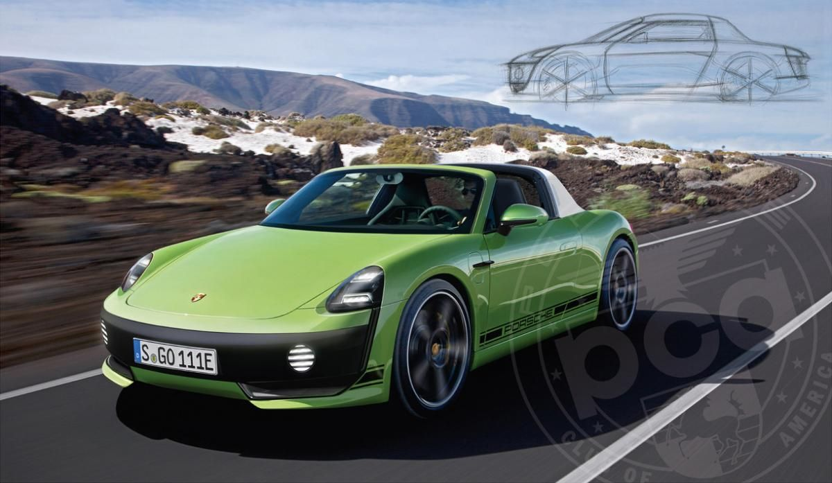 Is it Time for a New, All,Electric Porsche 914?