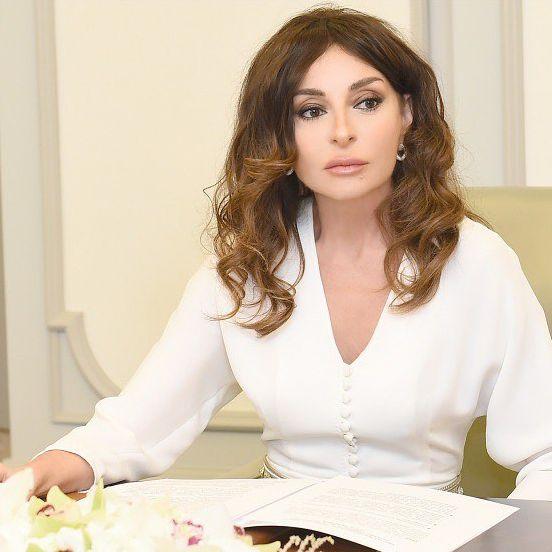 アゼルバイジャン大統領夫人メフリバン・アリエヴァ
