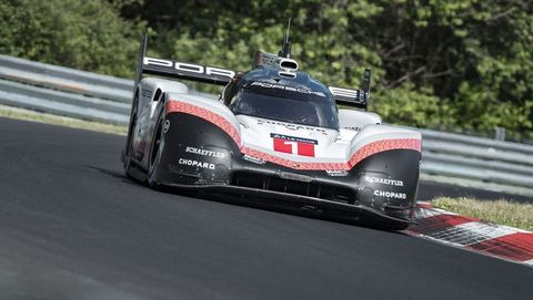 Porsche 919 Sets Nurburgring Record All Time Fastest Nordschleife Lap