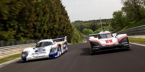 Porsche Shattering Nürburgring S