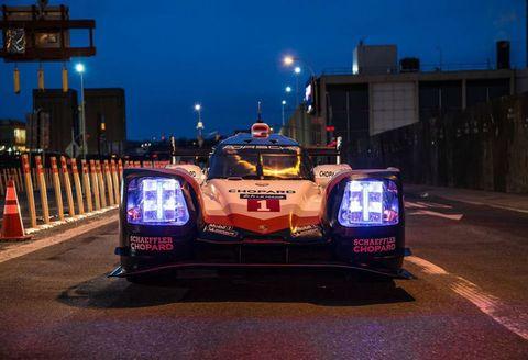 Vehicle, Car, Mode of transport, Race car, Transport, Night, Sports car, Group C, Supercar, Lane,