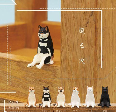 「坐著的柴柴」+「坐著的貓貓」風靡日本!古怪又可愛的扭蛋公仔設計戳中你的少女心