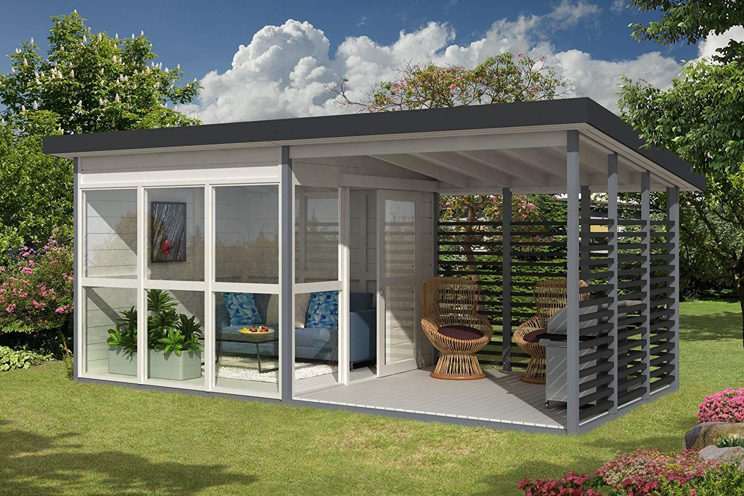 Amazon Is Selling a DIY Backyard Guest House That Can Be Built in 8 Hours