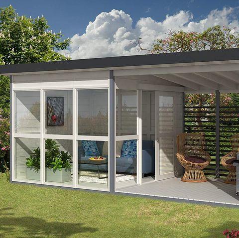 Garden Rooms Outdoor Backyards