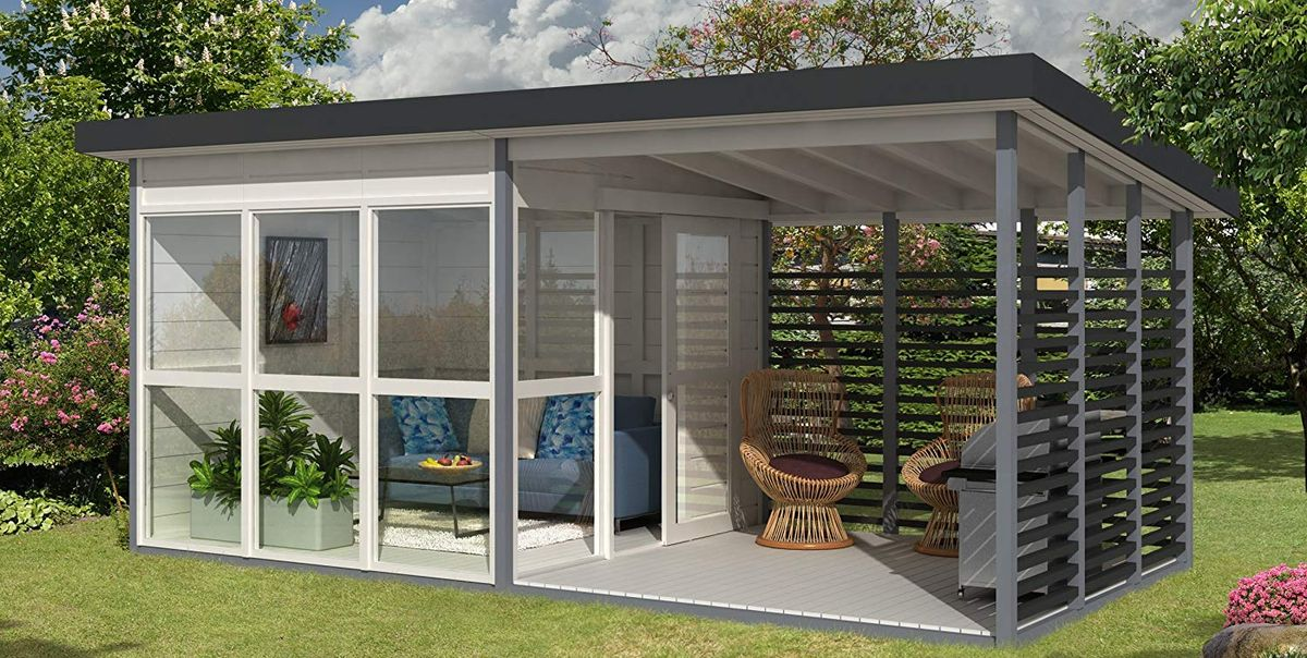 Amazon's Insanely Popular Backyard Guest House Is Back in Stock