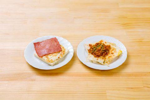 breakfast meat combo