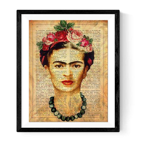Lámina de Frida Kahlo