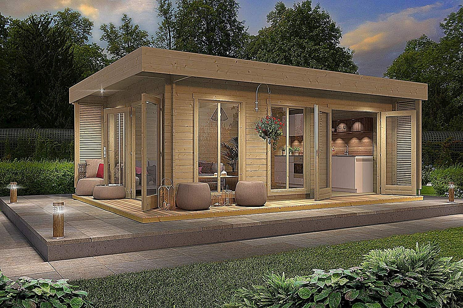 Amazon Is Selling An Allwood Tiny Home Kit That Lets You Build A Personal 'Resort'