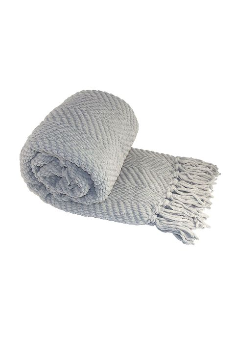 Knitted Tweed Throw Couch Cover Blanket