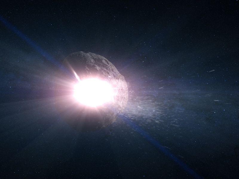 Esta es la nueva estrategia para defendernos de asteroides