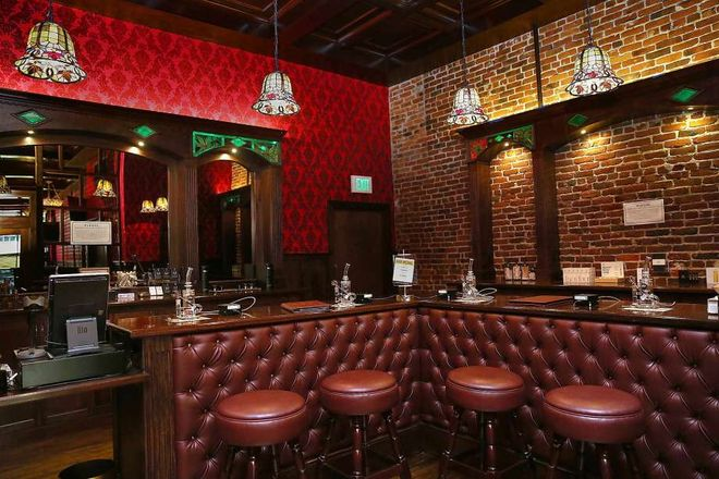 San Francisco marijuana lounge barbary coast