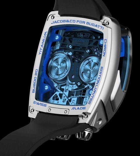 Jacob & Co Bugatti Chiron Watch